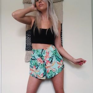 MinkPink Tropical Shorts